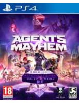Agents of Mayhem Steelbook издание Русская Версия